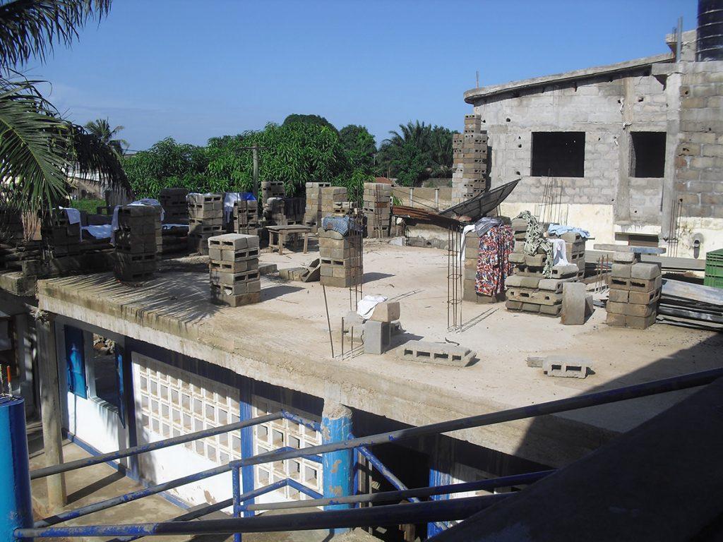 Bauarbeiten 2011